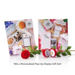 [CITIGEMS] This Mother's Day, Citigems is giving away 10 Limited Edition Personalised Pop-Up Display Gift Sets to celebrate the
