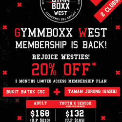 [GYMM BOXX Silver] Westies, have you heard about this?