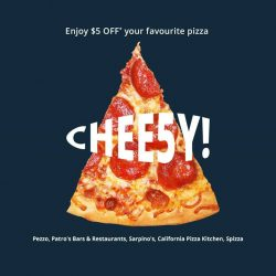 [foodpanda] fe5tival - May we have a pizza of your heart with $5* off your favourite pizza spots - California Pizza Kitchen SG,