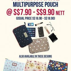 [Precious Thots] The Ashlyn Anne™ Special Promotion continues now with 5 Multipurpose Pouch designs to choose from!