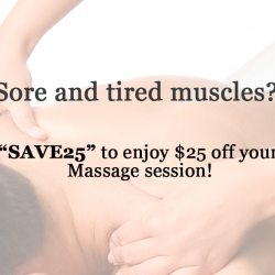"[Core Concepts - Physiotherapy Centre] Save $25 on our signature Sports Massage when you quote ""SAVE25""!"