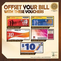 [GAO PENG CUISINE] We are proud to announce that we accept these vouchers, that can be used to offset your bill at Gao