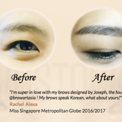 [BROW ART ASIA] Always feeling insecure with your bare eyebrow?