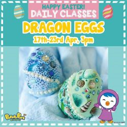 [Pornro Park Singapore] In the spirit of Easter, we are offering Dragon Eggs decorating class in Pororo Park Singapore!
