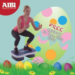 [AIBI] Many branded products to choose, from AIBI GYM, Life Fitness, Slendertone, Water Rower, Sixpad, Reebok, Adidas and many more.