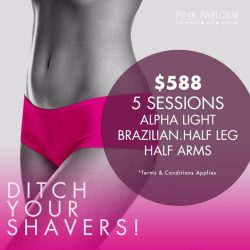 [Pink Parlour] No more daily shaving ladies!