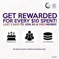 [Itacho Sushi] FREE MEMBERSHIP PROMOTION - 2 DAYS LEFT TO THE END OF PROMO Dine with us as a member and get rewarded