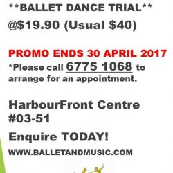 [The Ballet & Music Company] Alternatively, you can pay $40.