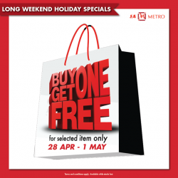 """[Metro] Say """"YES"""" to another long weekend!"""