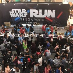 [Niva Time] Drop by City Square Mall (Farrer Park mrt) to sign up for Star Wars Run!