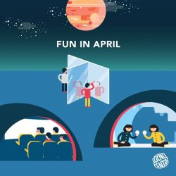 [Elements @ Play by Science Centre Singapore] April is here and we've got some awesome things lined up for you!