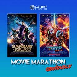 [Cathay Cineplexes] This is your chance to catch the galaxy being saved, twice!