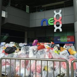 [NEX] We're thankful for the amount of donations that poured in today at nex Donation Drive!