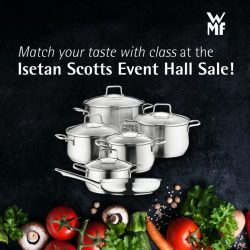 [WMF] Take your pick of culinary sophistication at the Isetan Scotts Event Hall Sale from 21 Apr – 4 May!