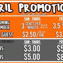 [OASIS Cafe] It's already April and we've got new promotion coming up for you!