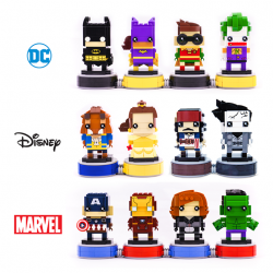 [Bricks World (LEGO Exclusive)] Your LEGOBrickHeadz collection is not complete without these exclusive bases!