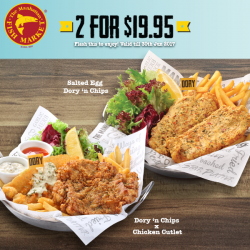 [The Manhattan FISH MARKET Singapore] Enjoy a good time with great food when you dine at The Manhattan FISH MARKET!