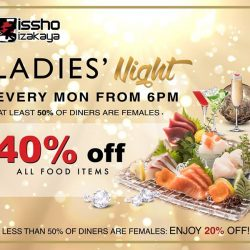 [issho izakaya] isshoizakayaLadiesNight 💋Calling out to all LADIES!
