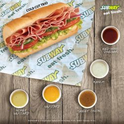 [Subway Singapore] Which sauce, out of these 5, is not fat-free?