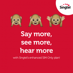 [Singtel] For just $20/mth, sign up or switch over for 12 months and enjoy additional FREE 2GB local data on