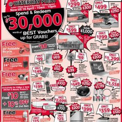 [Best Denki] Come on down to our Denki Show @ Waterway Point for the exciting deals.