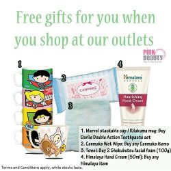 [Pink Beauty] You love free gifts and so do we!