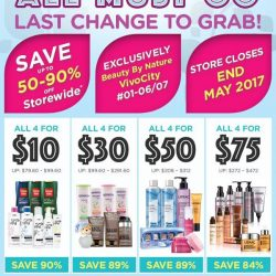 [Beauty By Nature] Moving Out Sale!