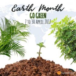 [Far East Flora] Our Earth Month sales starts today!