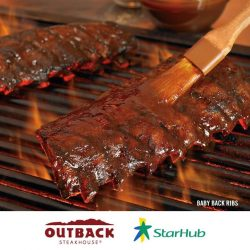 [Outback Steakhouse ] Special feature in Starhub Rewards!