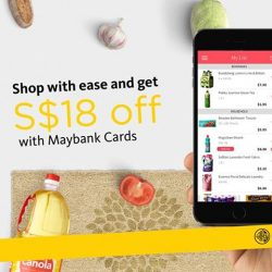 [Maybank ATM] Make shopping for groceries and household items an easy and effortless affair.