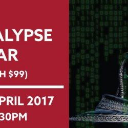 [New Horizon Centre] Cyber Apocalypse Seminar in LESS THAN A WEEK!