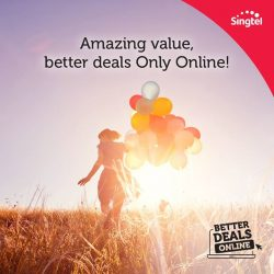 [Singtel] Enjoy better deals online with $30 off most phones plus waiver of Admin Fee (worth $10.