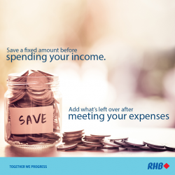 [RHB BANK] Find yourself falling behind on your 2017 savings resolutions after Q1?