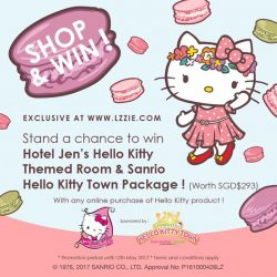 [L'zzie] Make a purchase of any Hello Kitty items on www.