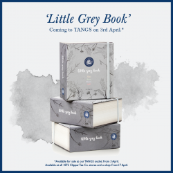 "[The 1872 Clipper Tea Co.] SAVE THE DATE: 3 APRIL 2017Watch out for the exclusive launch of ""Little Grey Book"" at our TANGS outlet"
