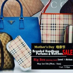 [Luxury City] Big Box Branded Bags and Perfumes Sale - S$0May 1st-7th, 11am-9:30pm, big Box lvl 2 promotion