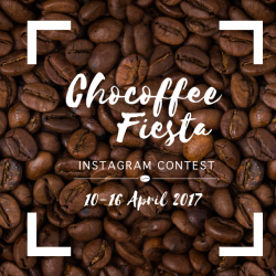 [Changi City Point] Visit our Chocoffee Fiesta where we have the best of both worlds and take part in our Instagram contest.