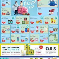 [Watsons Singapore] Enjoy 2ND BUY AT 50% OFF, MIX & MATCH Your FAVOURITE PICKS across participating brands like Swisse, DHC and more!