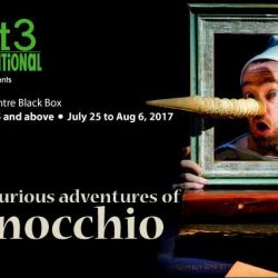 [SISTIC Singapore] Tickets for The Curious Adventures of Pinocchio go on sale on 17 April 2017.