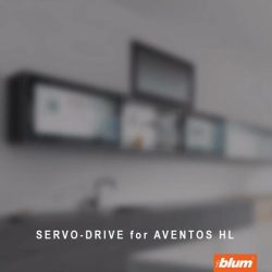 [Blum & Co] Blum Solutions for your wall cabinet: AVENTOS HLThe single front that lifts vertically is ideal for medium-sized cabinet