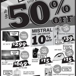 [Best Denki] BEST Denki Warehouse Sales Up to 80% Off @ Sakae Building.