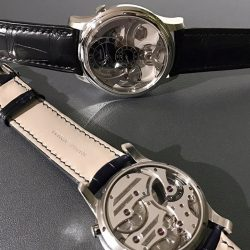 [The Hour Glass] The Insight Micro-Rotor unveiled during Baselworld by Romain Gauthier is a fine specimen of what a high-end timepiece