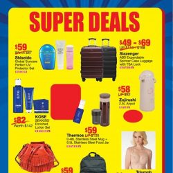 [BHG Singapore] Our SUPER DEALS are selling out fast, grab yours TODAY while stocks last!