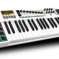 [Swee Lee Music] Play, control and create your music with the M-Audio Code range of keyboards.