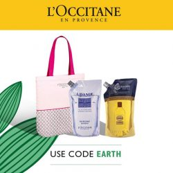 [L'Occitane] There's no better time to restock your eco-refill packs this month + you get a free limited ed.