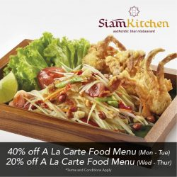 [Siam Kitchen] Have you heard of this fantastic deal?
