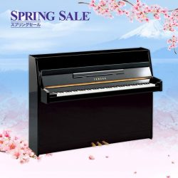 [YAMAHA MUSIC SQUARE] Yamaha Spring Sale Highlight:A fine example of natural beauty, the Yamaha JU109 features an exquisite combination of Yamaha craftsmanship