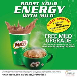 [PEPPER LUNCH] WE'RE NOW SERVING ICED MILO!
