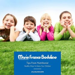 [Marie France Bodyline] Children are constantly exposed to toxins every single day.