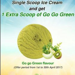 [New Zealand Natural Café] Introducing our healthy Go Go Green flavour!